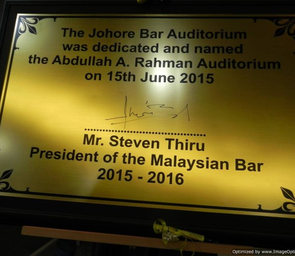 Johore Bar Audi Naming Ceremony 15.6.15 044