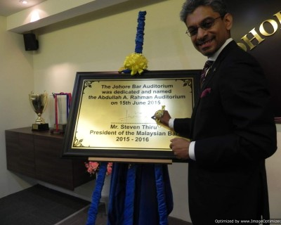 Johore Bar Auditorium naming ceremony on 15.6.15 03
